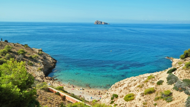 Benidorm gay beach cruising Spain Tio Ximo