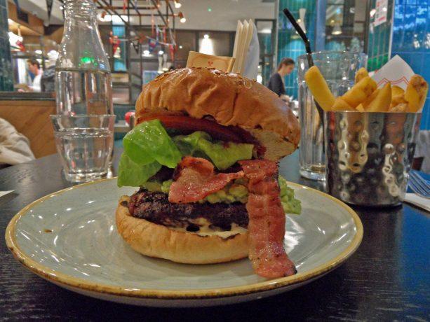 GBK gourmet burger kitchen hamburger