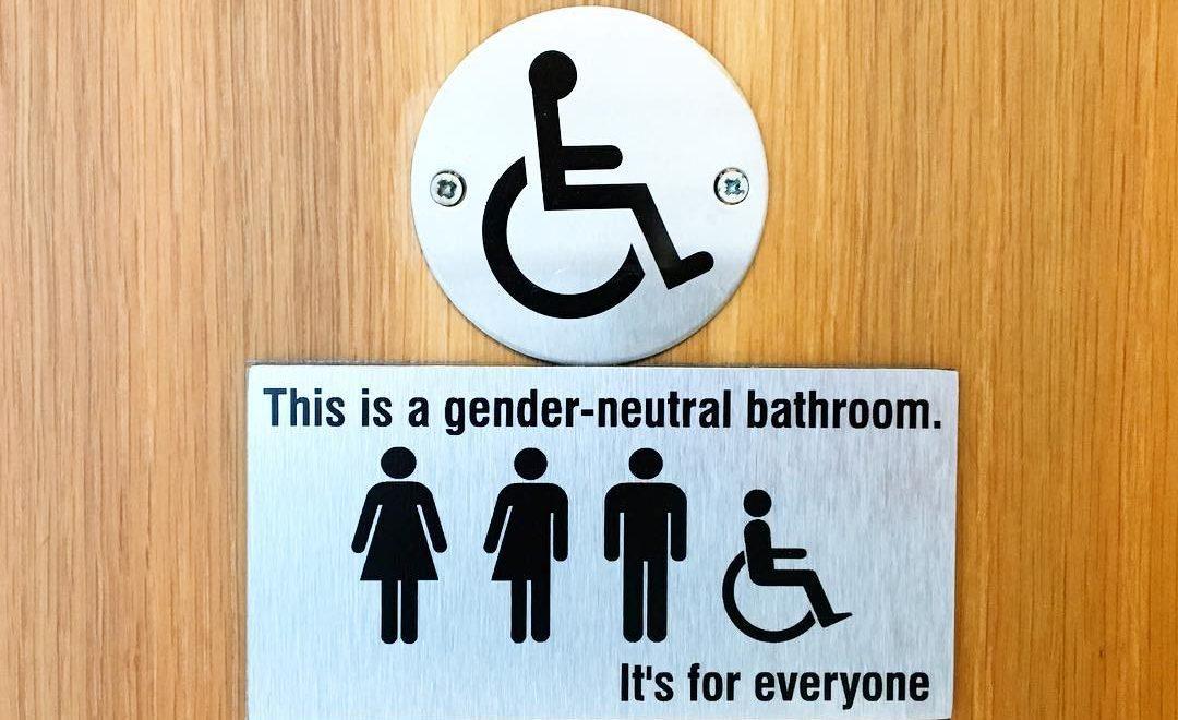 gay Dublin gender neutral bathroom