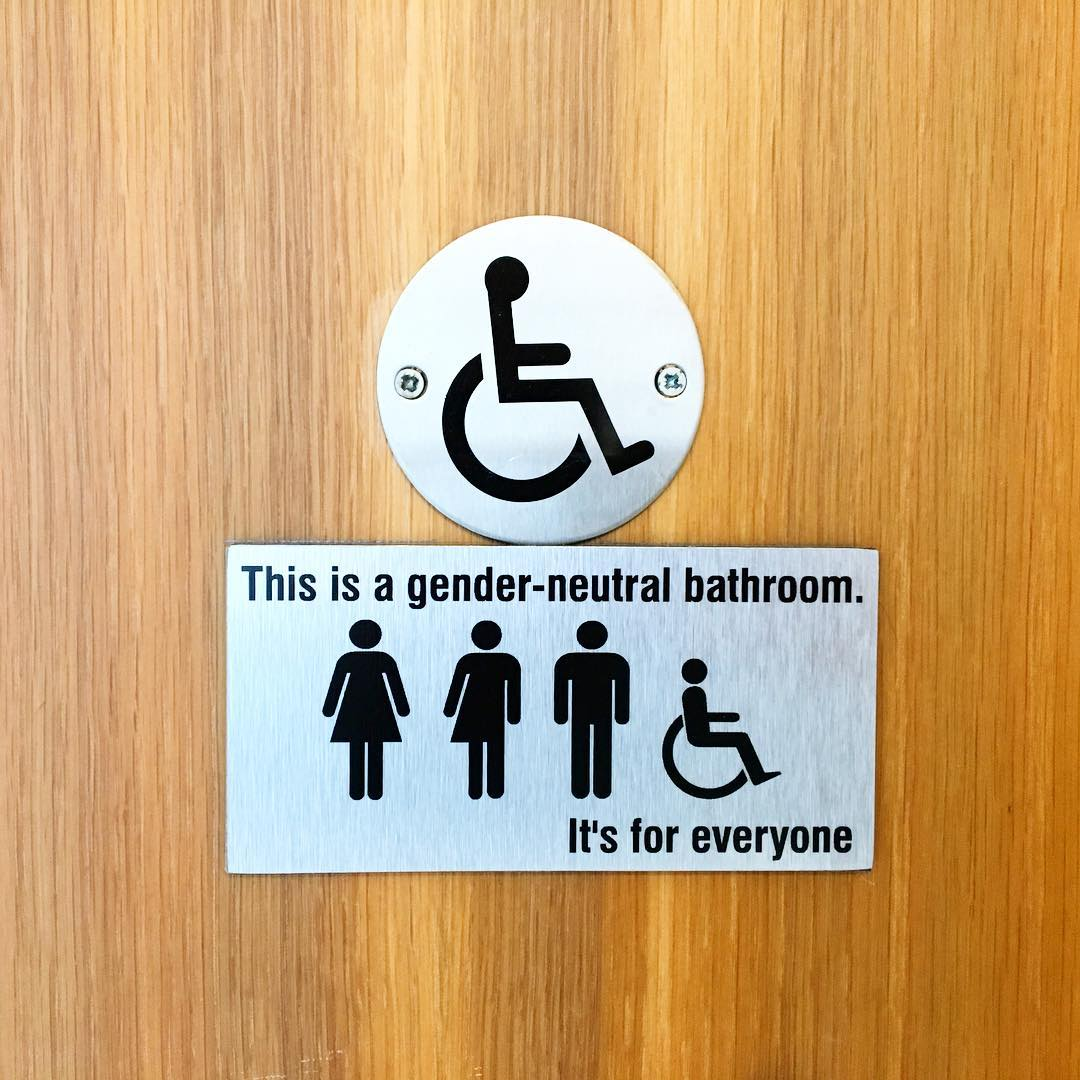 gay Dublin gender neutral bathroom