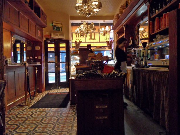 Dublin coffee bar le petit parisien