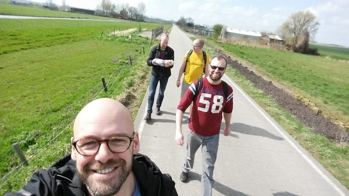 gay hiking the netherlands Burgers en Buitenlui