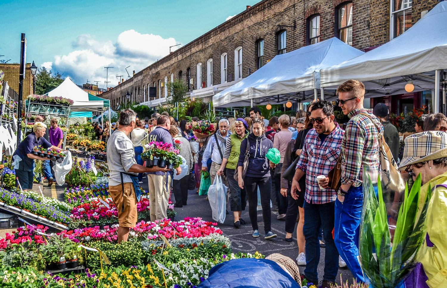 London Columbia Road Market