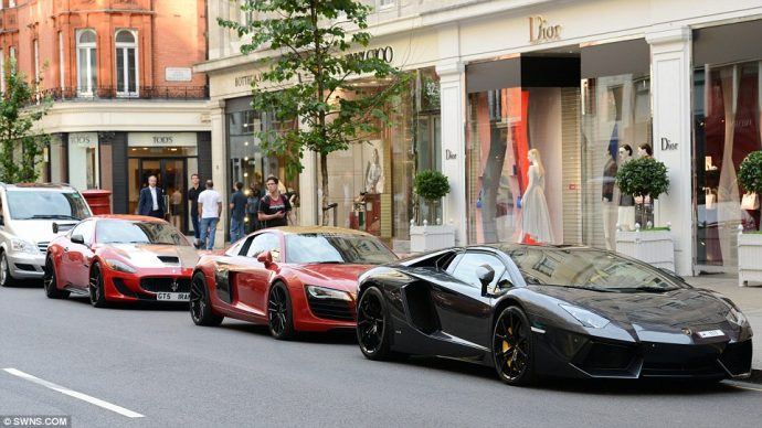 shopping London weekend Sloane Street
