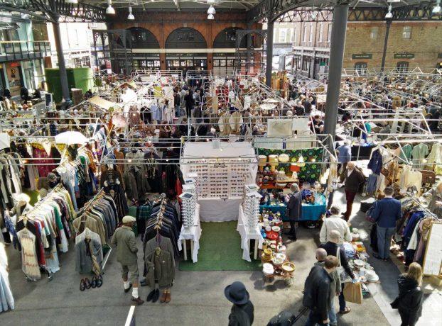 shoppen londen old spitalfields market