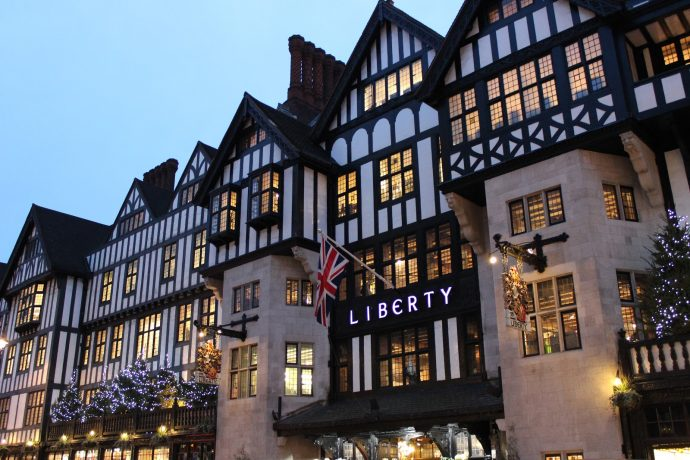Liberty London shopping weekend