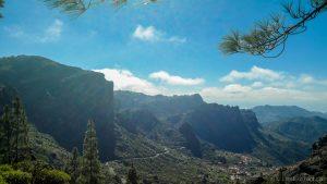 mooi landschap op Gran Canaria