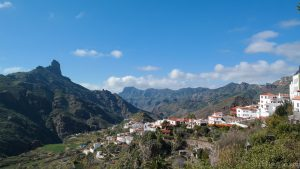 little villages with almonds in Gran Canaria