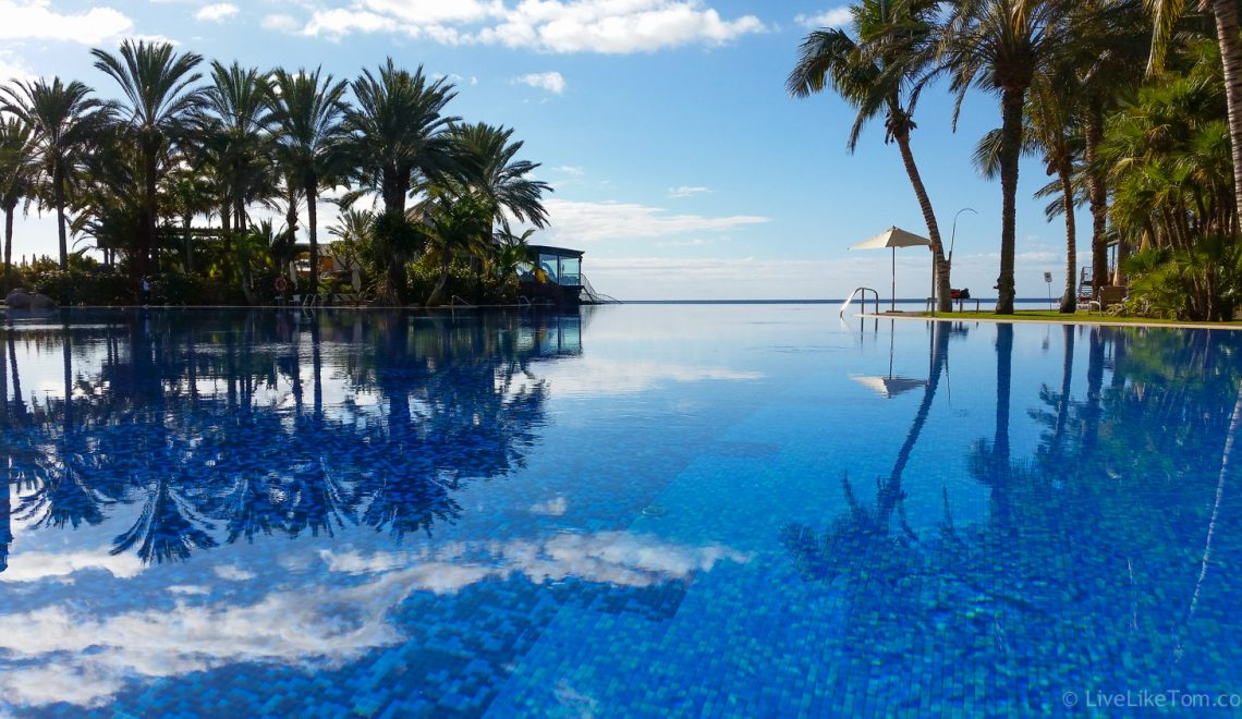 Lopesan Meloneras infinity pool gay travel luxury