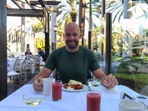 breakfast at Lopesan Meloneras