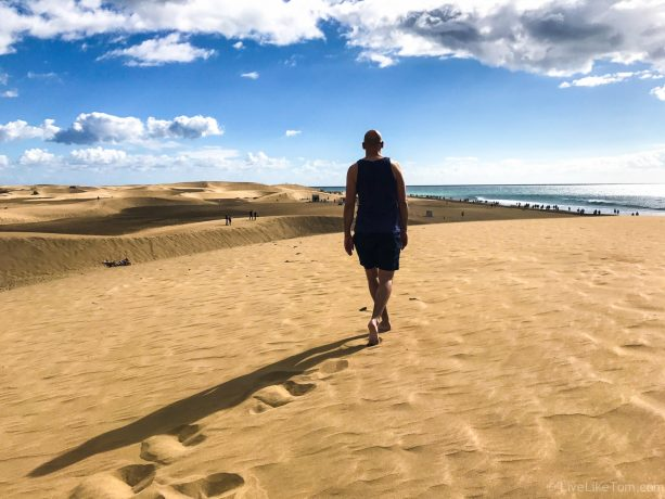 cruising in the dunes of Maspalomas