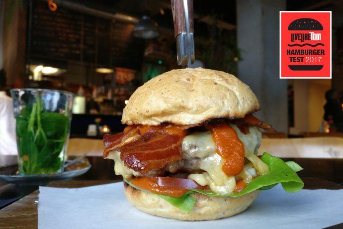 beste hamburger 2017 Rotterdam Baek