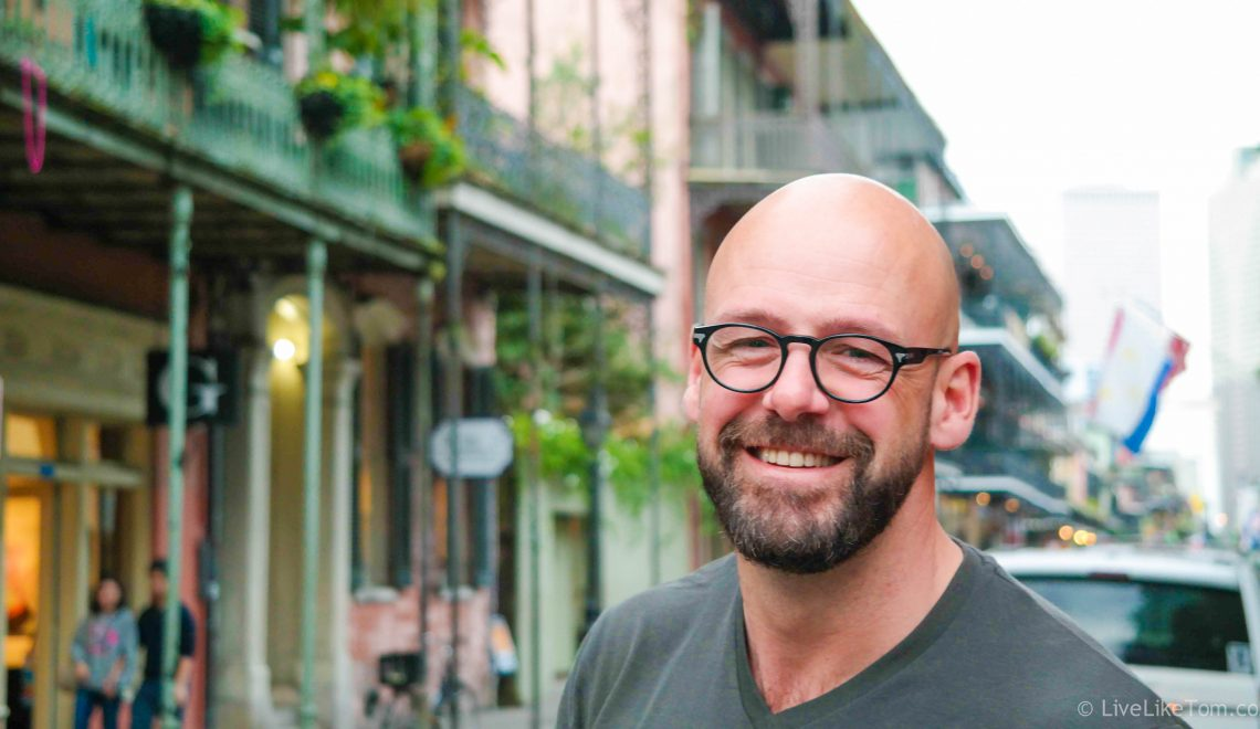 Serge for LiveLikeTom in New Orleans