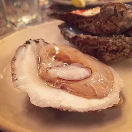 enormous oysters at Desire restaurant New Orleans