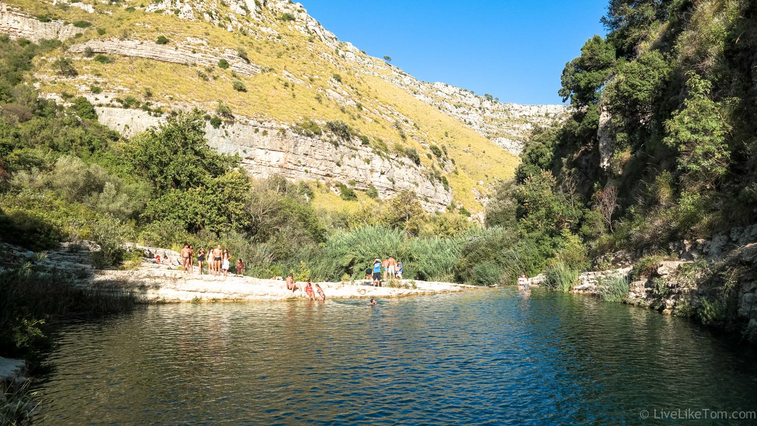 wandelen zwemmen duiken vakantie Sicilië gay Sicily