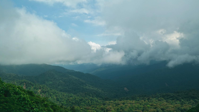 Valley in Monteverde COsta Rica