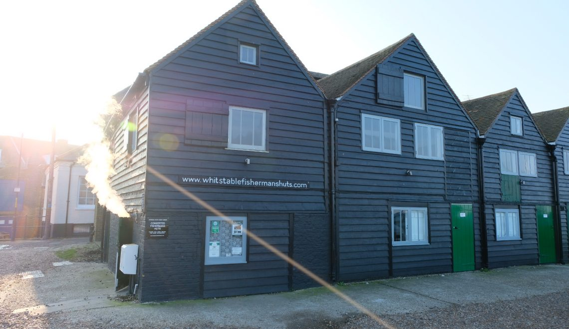 The fishermen's huts in Whitstable