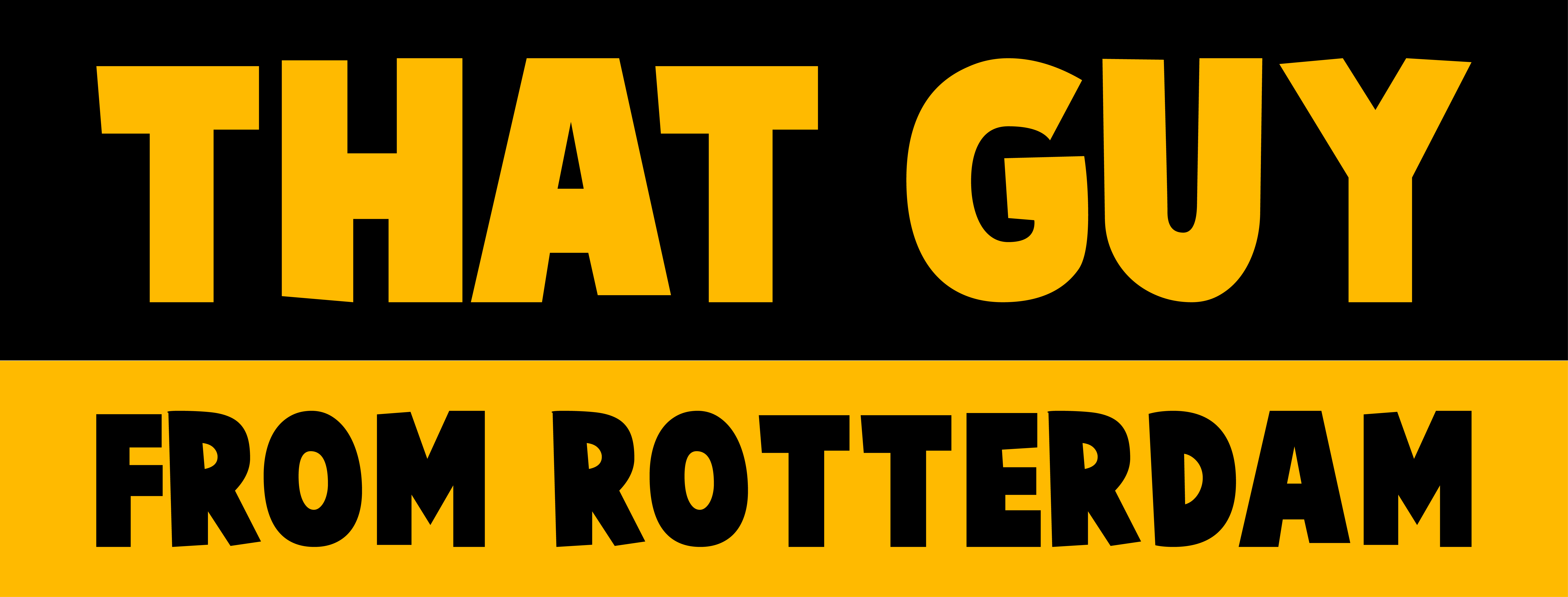 That Guy From Rotterdam